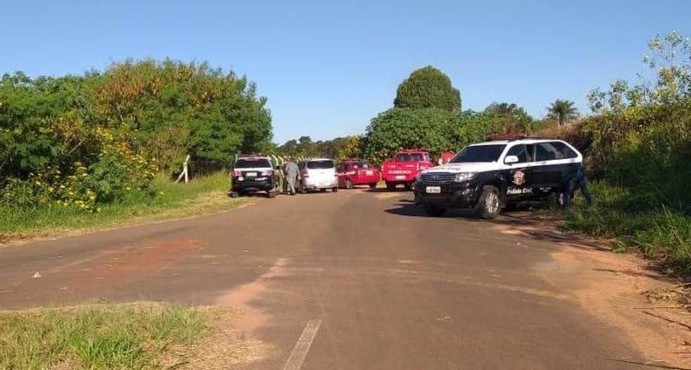 Parte de corpo foi encontrada em lagoa em Araraquara — Foto: ACidadeON/Araraquara