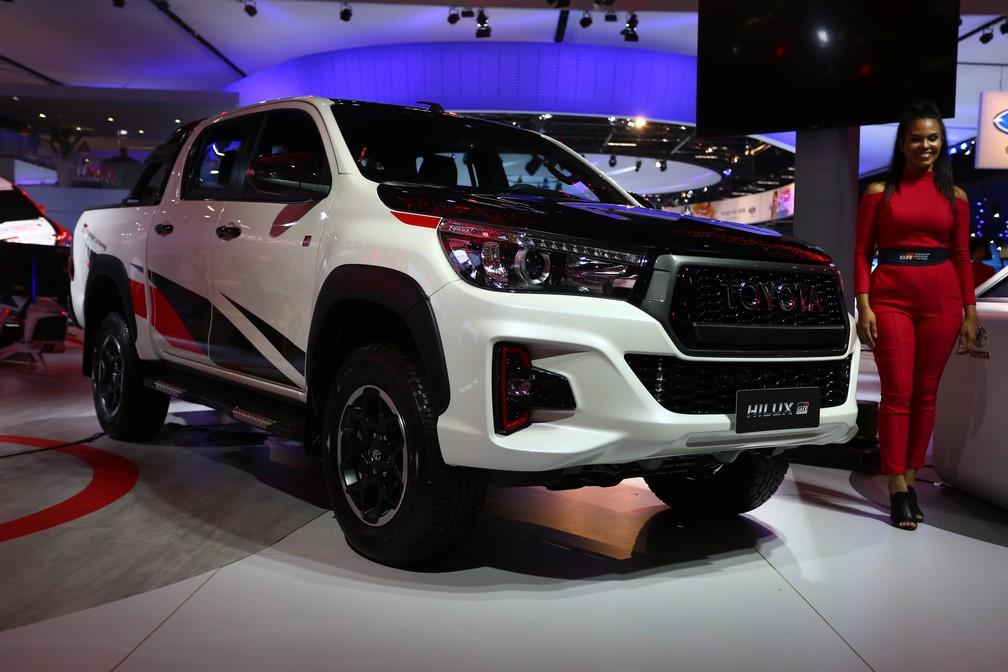 Toyota Hilux GR-S — Foto: Marcelo Brandt/G1