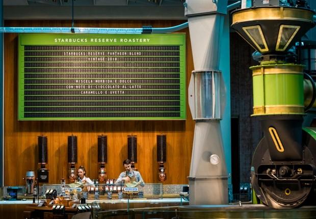 Starbucks Reserve Roastery em Milão (Foto: Divulgação)