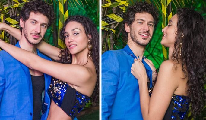 Débora Nascimento aparece com o novo namorado pela primeira vez