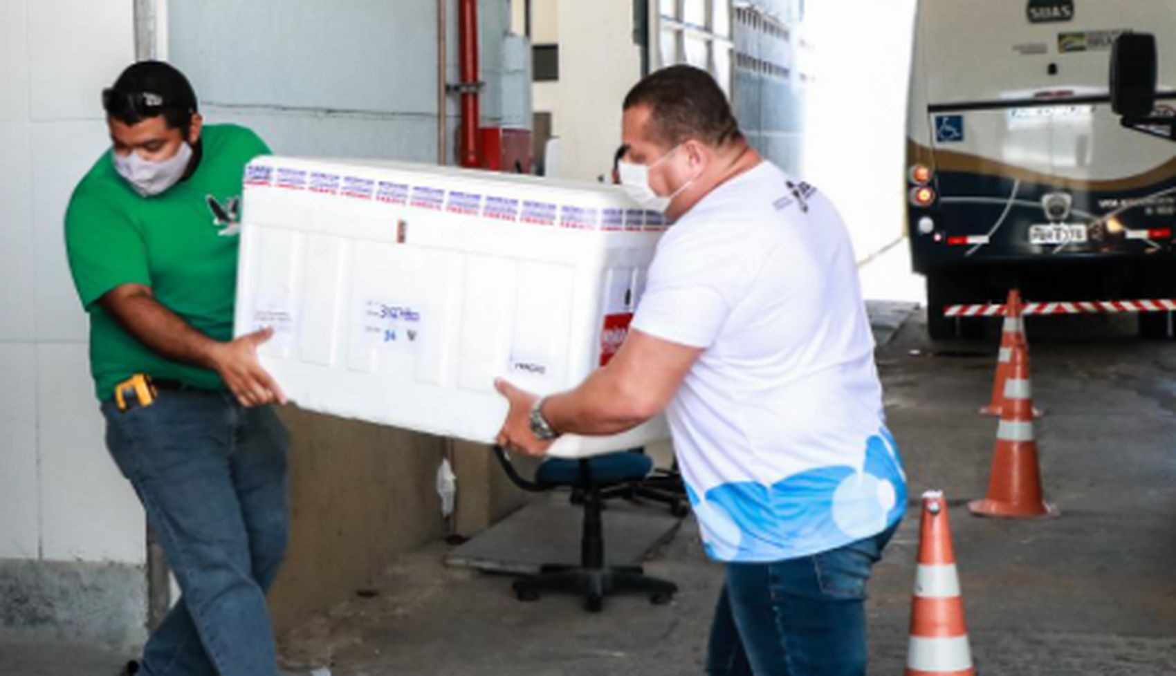 Sergipe recebe mais 9 mil doses da vacina Coronavac