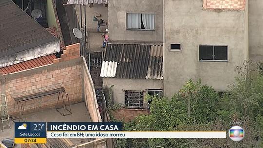 Mulher morre queimada dentro de casa após incêndio criminoso em BH