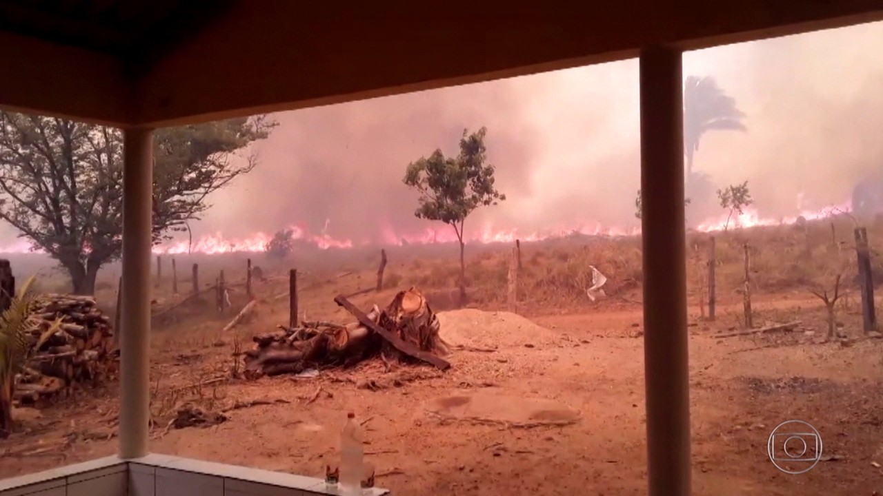 Tocantins já tem mais focos de incêndios do que Mato Grosso do Sul