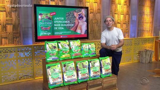 Neto Fagundes destaca qualidades e vantagens dos alimentos úmidos para cães