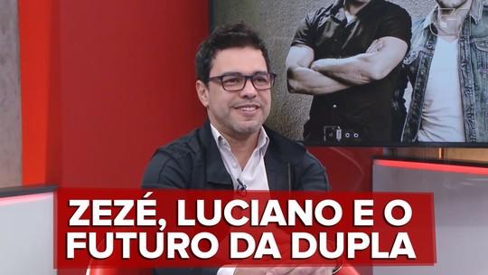 Zezé Di Camargo planeja diminuir número de shows com Luciano e diz querer hologramas da dupla