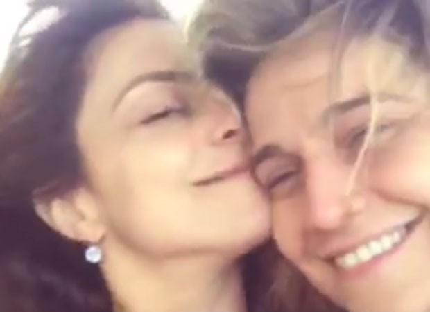 Priscila Montadon e Fernanda Gentil  (Foto: Reprodução)