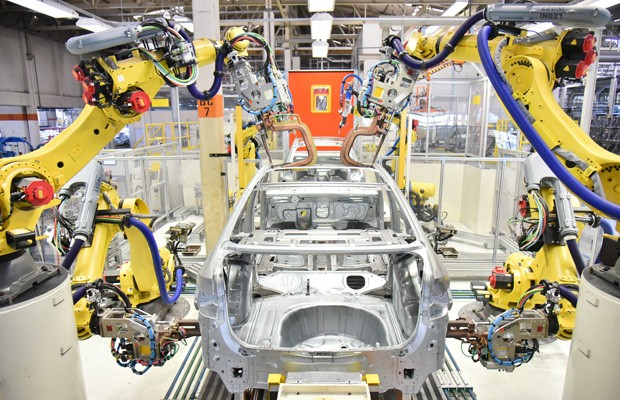 Linha-de-montagem-do-Volkswagen-Virtus (Foto: Divulgação)