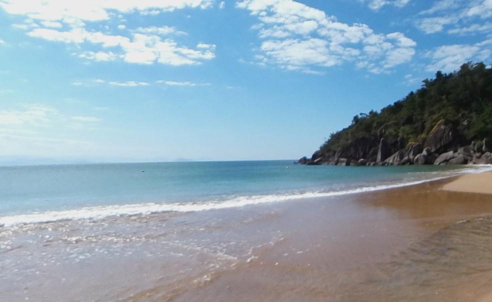 Praia do Jabaquara, em Ilhabela — Foto: Reprodução/ Street View