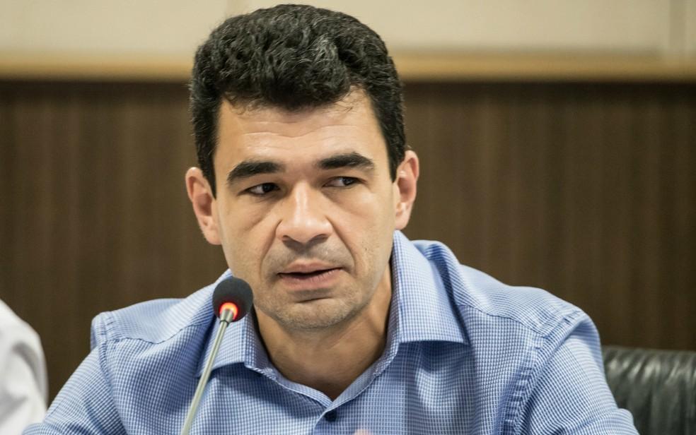 Marcelo Duarte, secretário de Infraestrutura e Logística (Foto: José Medeiros/GCom MT)