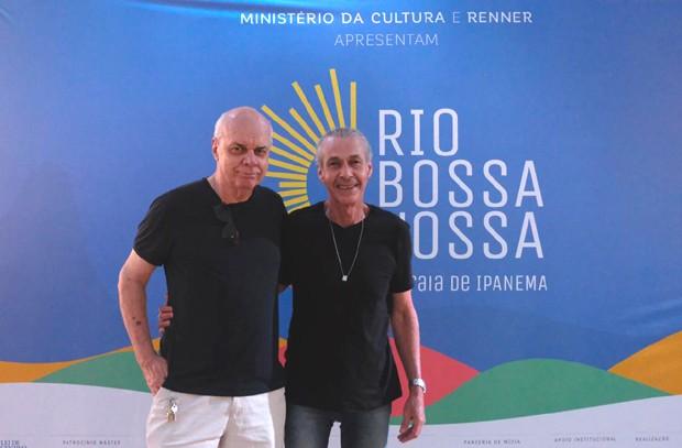 Roger Henri e Ignácio Coqueiro (Foto: Renato Wrobel/QUEM)