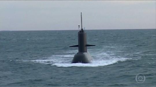 Submarino argentino com 44 tripulantes segue desaparecido