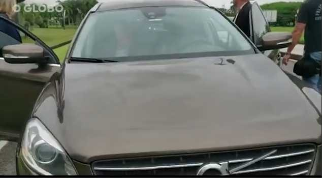 Volvo do ex-ministro Moreira Franco