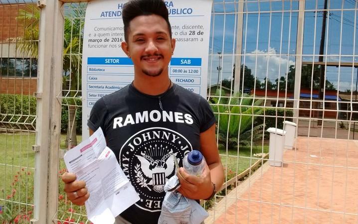 ENEM 2016 - DOMINGO (6) - RIO BRANCO (AC) - Adefran disse que prova estava difícil e que nem chegou a ver tema da redação