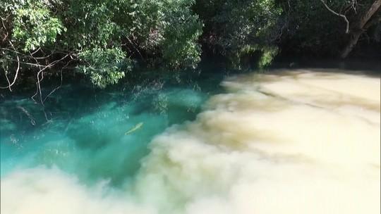 Águas cristalinas de Bonito, no Mato Grosso do Sul, estão ameaçadas
