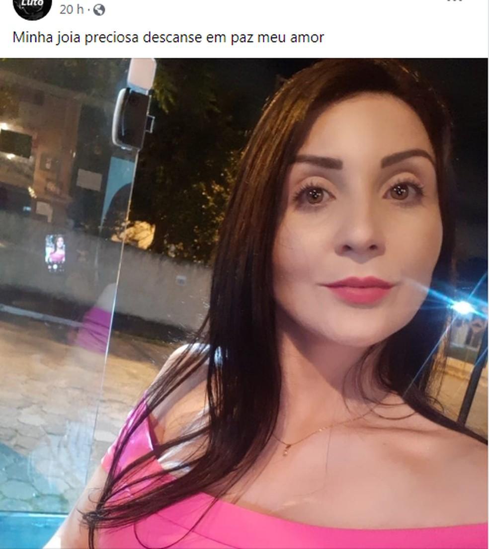 Denise de Paula Camargo tinha 32 anos e foi morta a tiros em SC — Foto: Redes Sociais/Reprodução