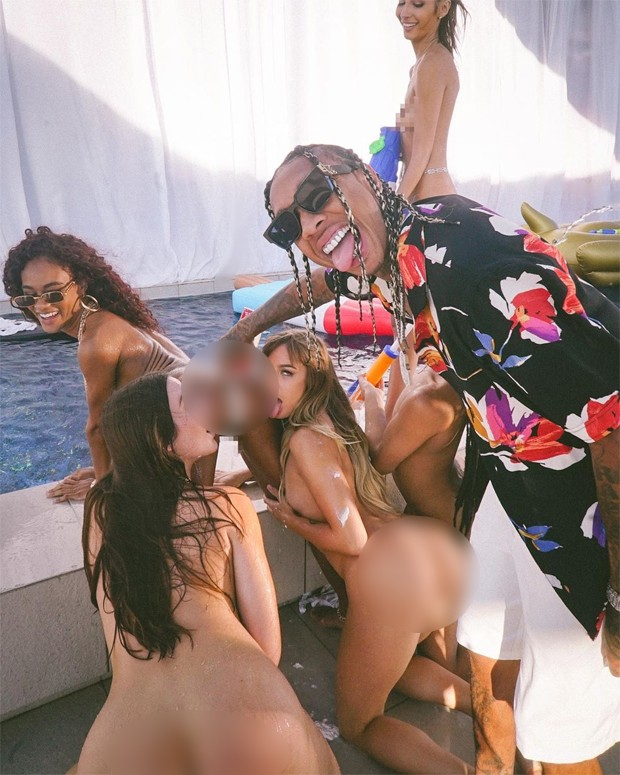 Tyga lançou o canal Only Fans, com conteúdo pornográfico (Foto: Reprodução / Instagram)