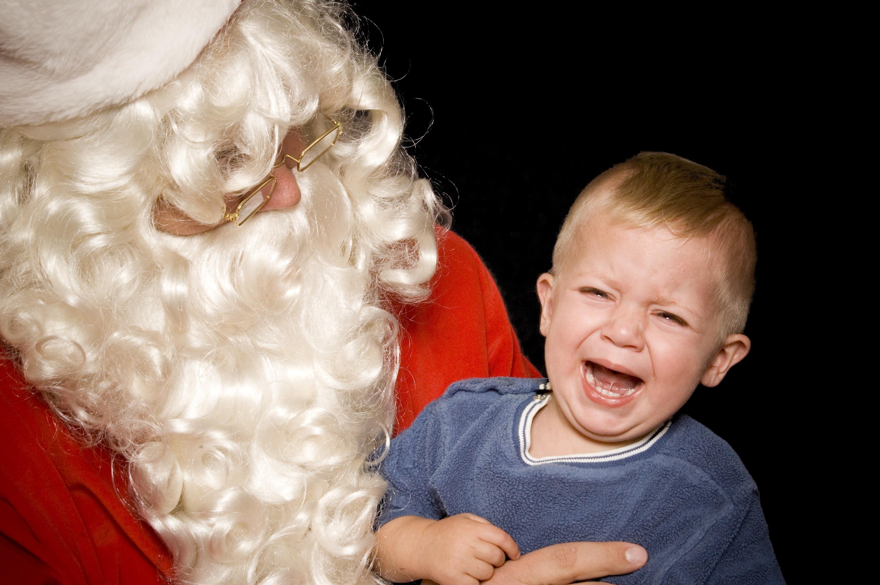 Medo de Papai Noel (Foto: Thinkstock)