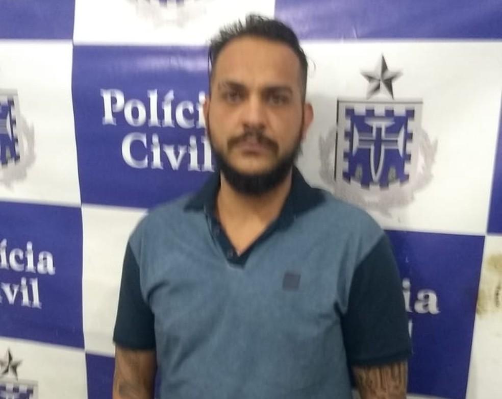 Paulo Henrico atuava ilegalmente como dentista na Bahia — Foto: Divulgação/Polícia Civil