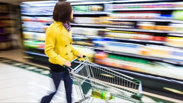Varejo ; consumo ; consumidor ; compras ; supermercado ;  (Foto: Shutterstock)