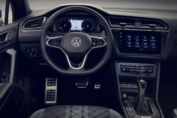 Volkswagen Tiguan 2021 Interior (Foto: Divulgação)
