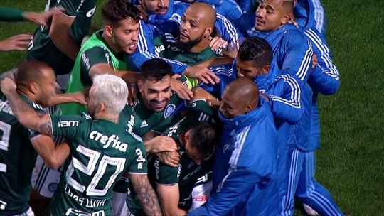 """Novamente decisivo, Dudu vê página virada no Palmeiras e promete batalhar """"até o último dia"""""""