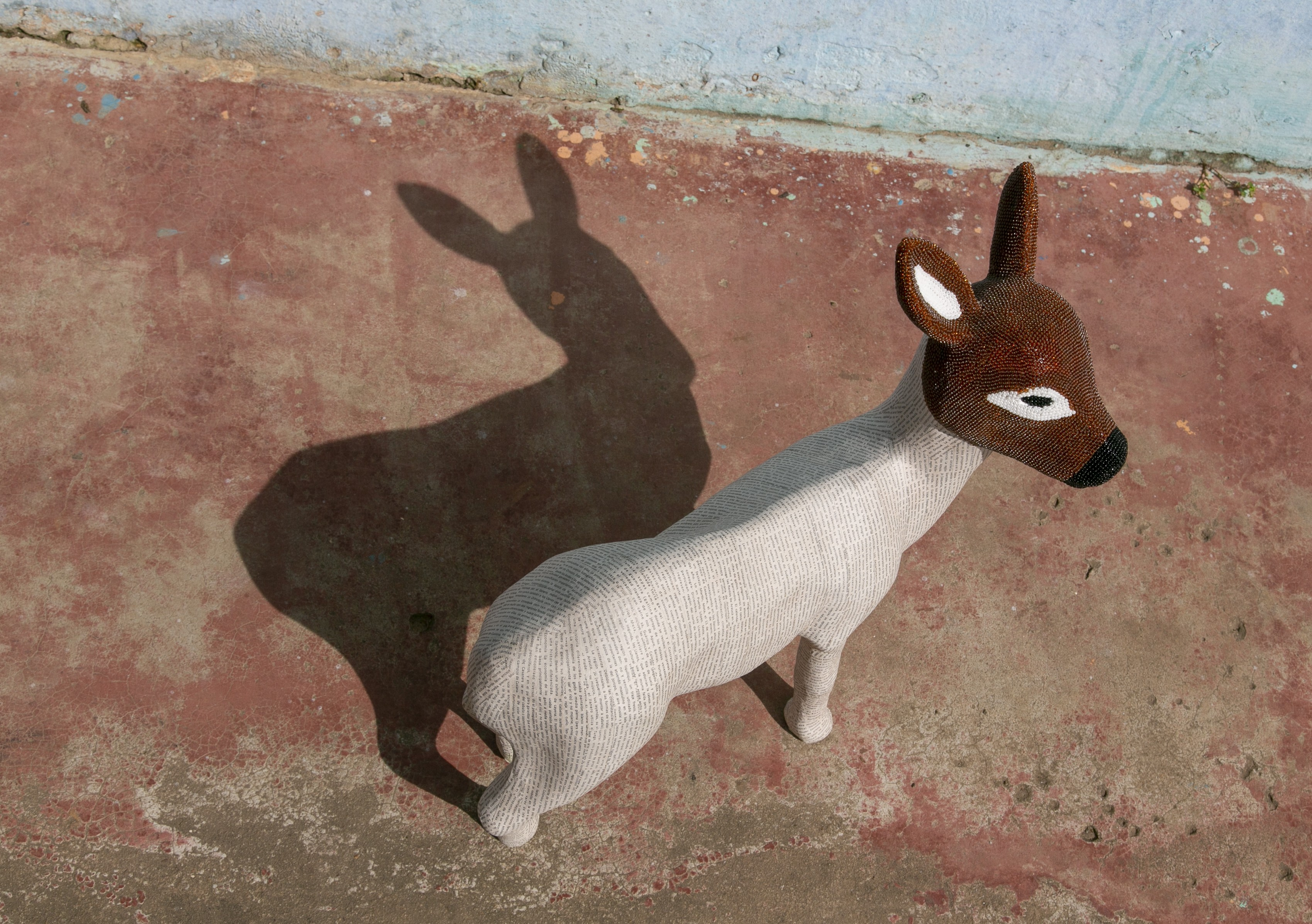 O Marni Ark é um grupo de animais de escultura (Foto: Divulgação)