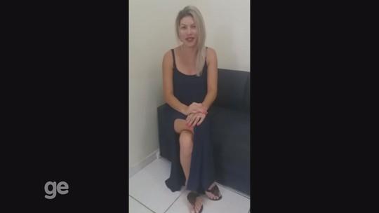 Polly Moraes faz vídeo e pede apoio na reta final do Musa Gladiadores