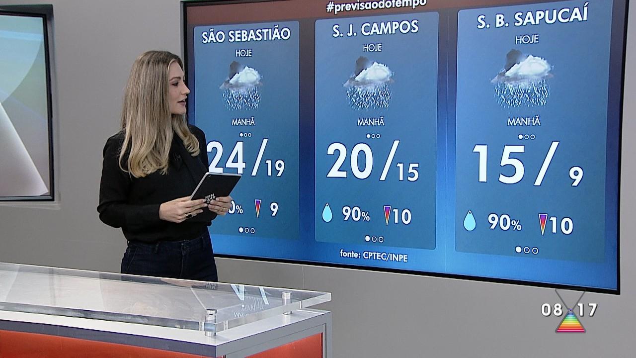 Confira a previsão do tempo para esta terça-feira na região