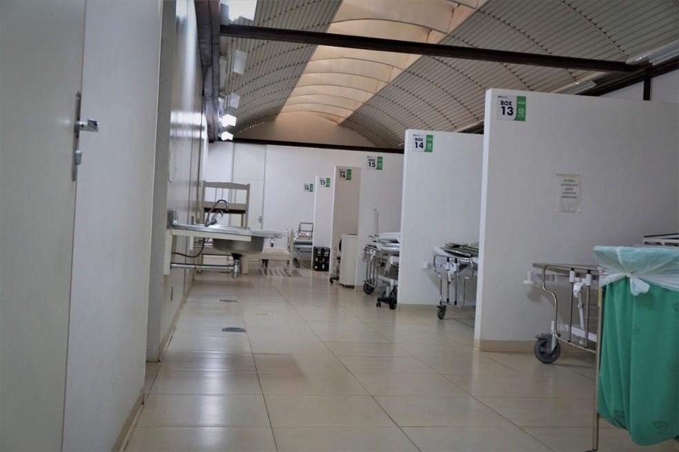 Acre tem apenas 7% de ocupação de leitos UTI Covid nesta quarta-feira (15), diz Saúde — Foto: Odair Leal/Secom