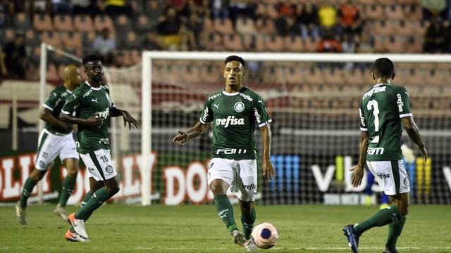 Gabriel Menino foi titular do Palmeiras em Itu