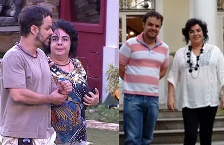 """No """"BBB"""" 15, Adrilles e Mariza eram unha e carne. Em 2017, eles participaram do """"Mais você"""" e falaram sobre a relação. """"Nossa amizade é a mais verdadeira da história do programa"""", disse ele TV Globo - Reprodução"""