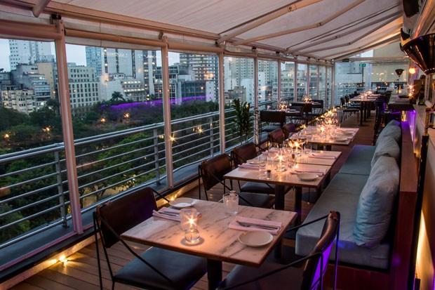 10 bares e restaurantes com vista de tirar o fôlego em São Paulo (Foto: Leo Feltran)