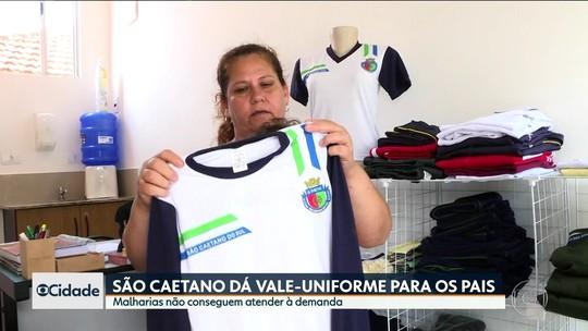 Novo sistema de aquisição de uniformes causa atrasos na entrega em São Caetano do Sul