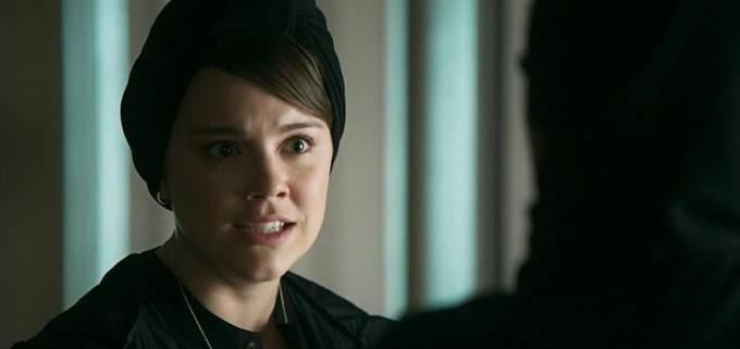 Alice Wegmann interpreta Dalila (Foto: TV Globo)