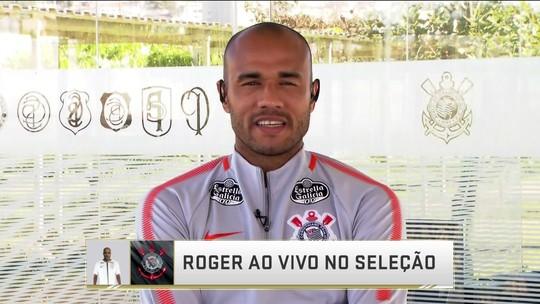 "Após gol, Roger comemora nova fase no Corinthians: ""Queimei etapas no Inter"""