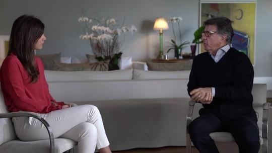 Andréia Sadi entrevista o empresário Paulo Marinho