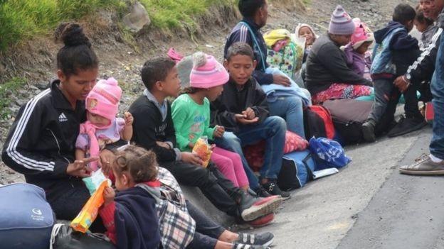 BBC - Segundo a Defensoria Pública da União, é preciso ampliar a capacidade de acolhimento de crianças e adolescentes venezuelanos em Roraima (Foto: ELIAS BENAROCH/EPA via BBC)