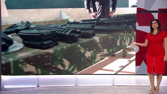 Câmara pode votar projeto sobre armas na próxima terça-feira (20)