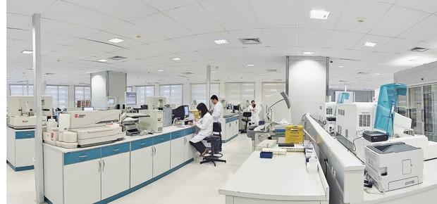 Sede técnica e central de processamento de exames do Fleury no Jabaquara, São Paulo  (Foto: Divulgação)