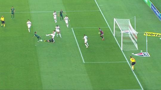 Assista aos gols do empate entre São Paulo e América-MG no Morumbi