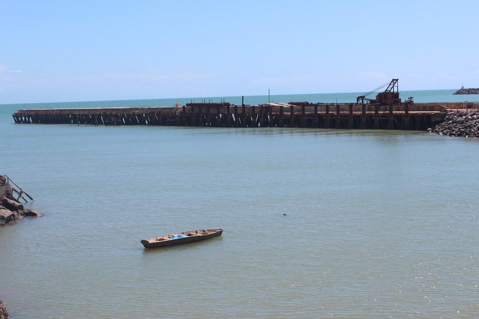 Porto de Luís Correia está incluído nos projetos de PPP.  — Foto: Gilcilene Araújo/G1