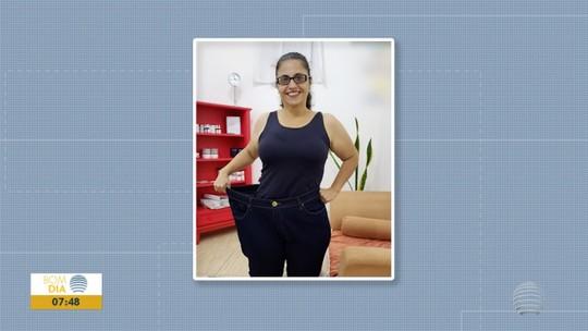 """Na luta pelo emagrecimento, empresária """"vence emocional"""" e consegue perder 48kg"""