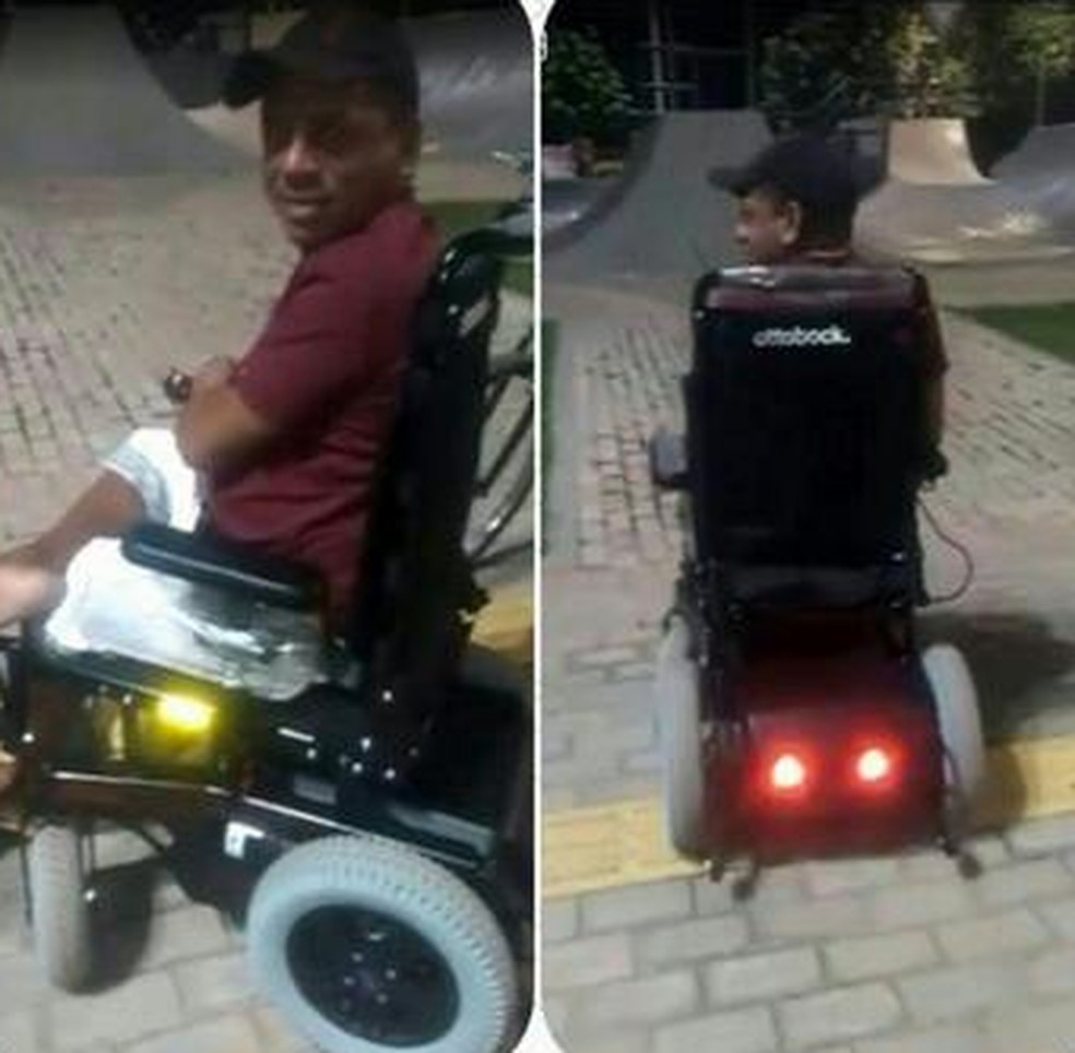 Cadeia de rodas roubada de Dirceu Nascimento é motorizada: