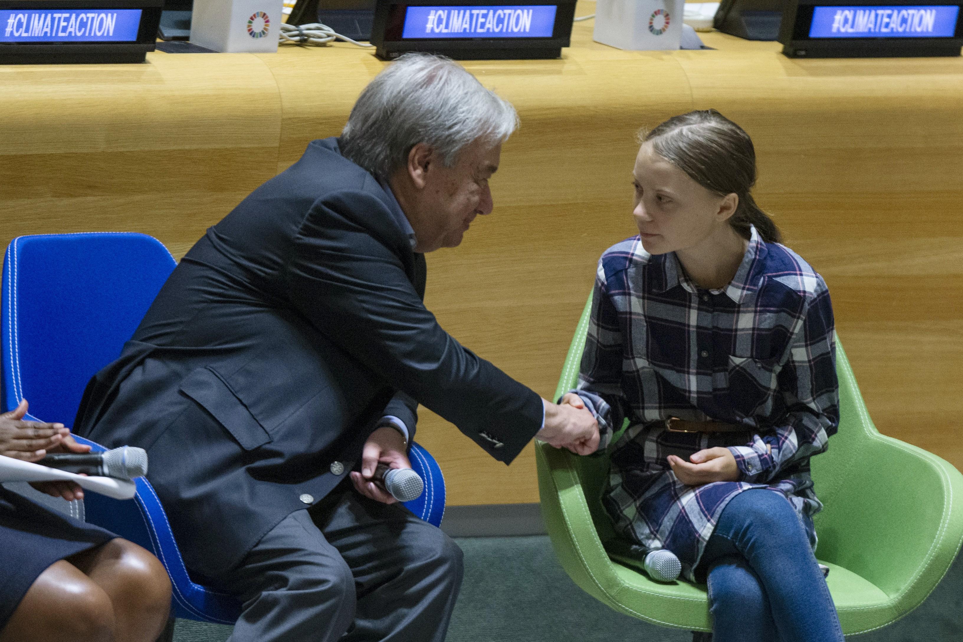 Na abertura da Cúpula do Clima da ONU, Greta Thunberg diz que jovens têm força para pressionar governantes por mudanças - Notícias - Plantão Diário