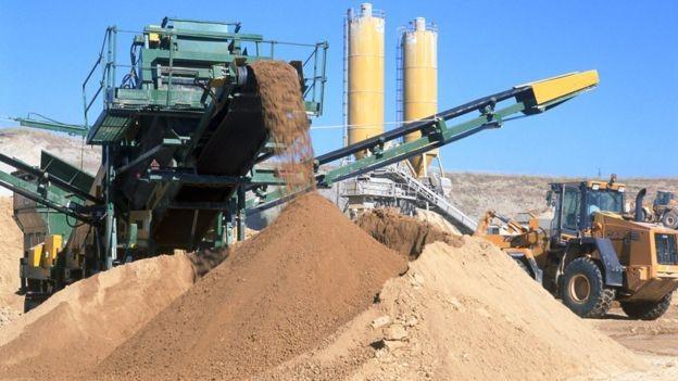 Consumo anual mundial de areia é estimado em mais de 40 bilhões de toneladas (Foto: GETTY IMAGES/BBC)