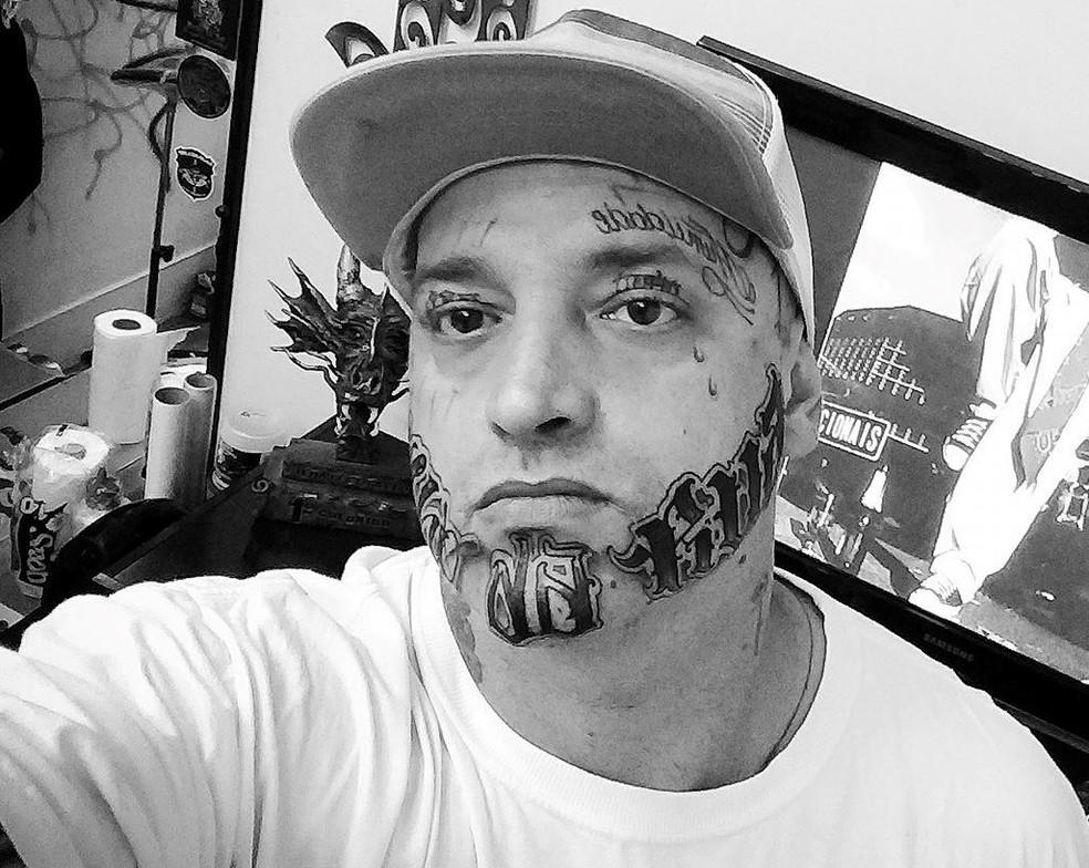 Marcos Gentil Romero, o Tsunami, de 36 anos, foi morto e tiros em São Carlos — Foto: Reprodução/Facebook
