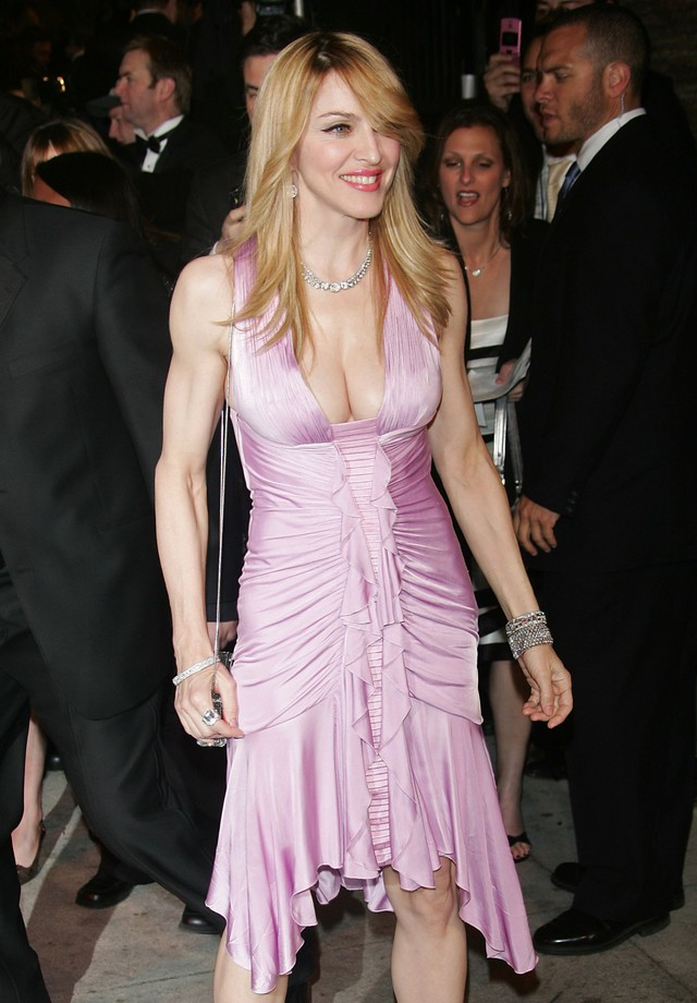 Madonna no Oscar de 2006 (Foto: Getty Images)