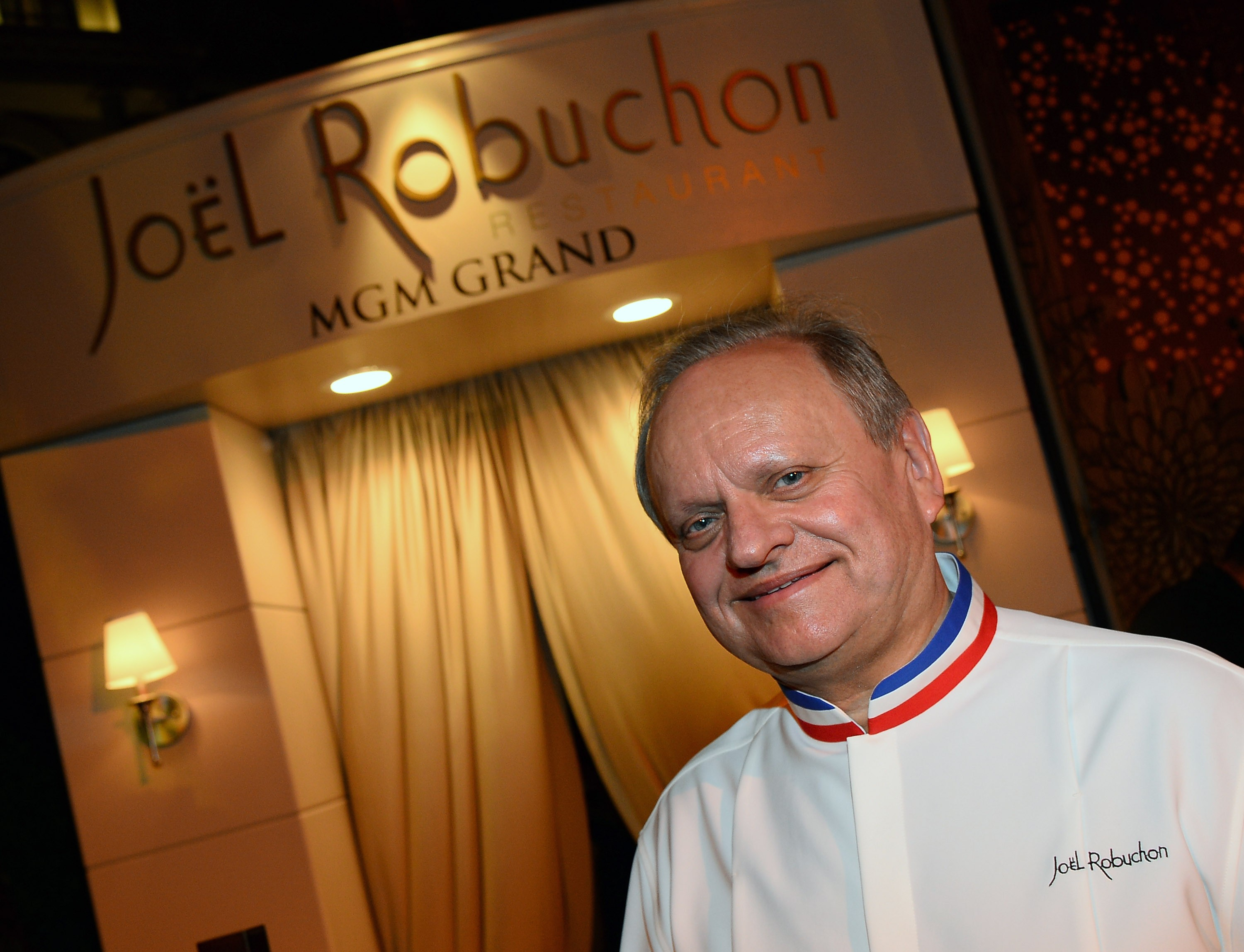 O chef francês Joël Robuchon  (Foto: Getty Images/ Ethan Miller)
