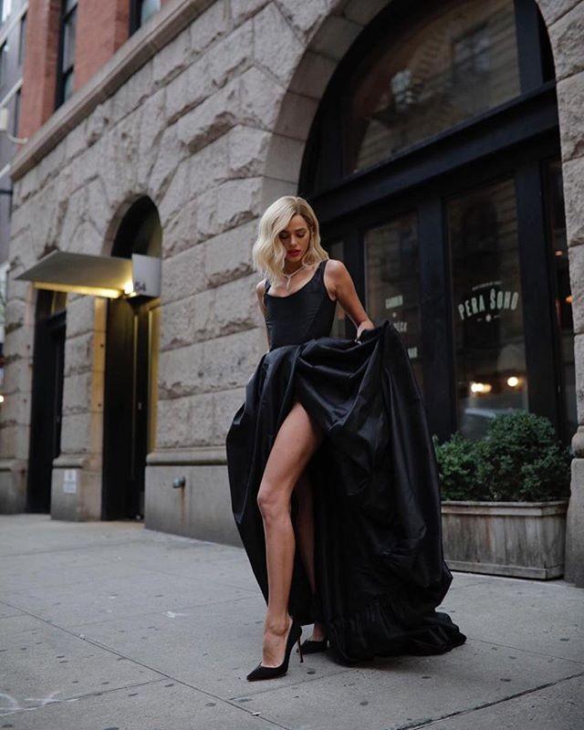 Bruna Marquezine loira em Nova York (Foto: Reprodução/Instagram)