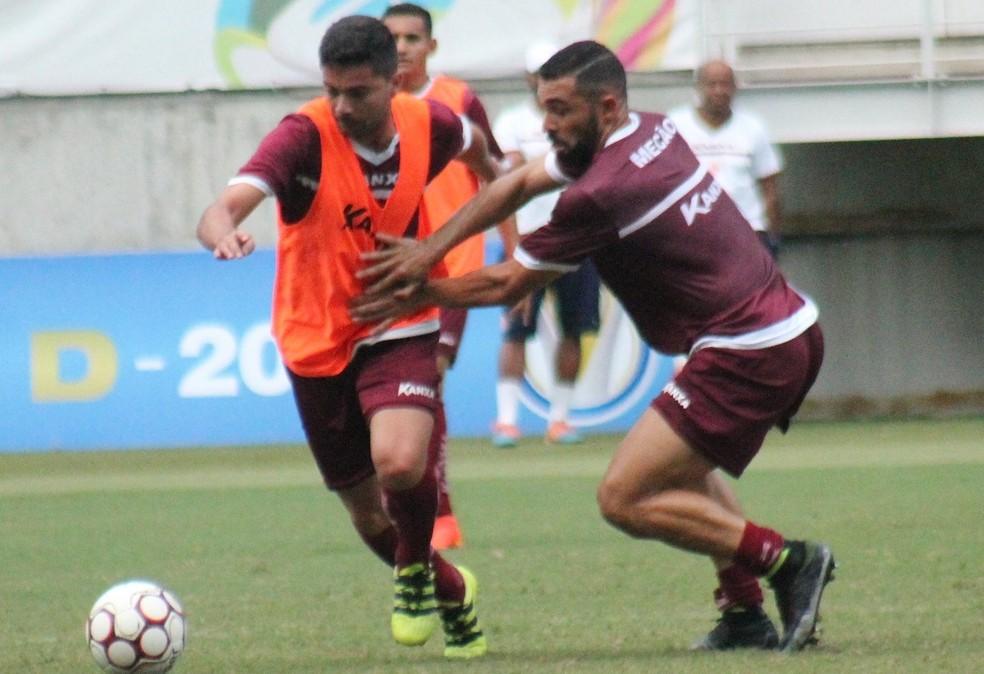 Sidney volante América-RN Arena das Dunas (Foto: Canindé Pereira/América FC)